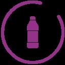 Ne pas utiliser de bouteilles en plastique